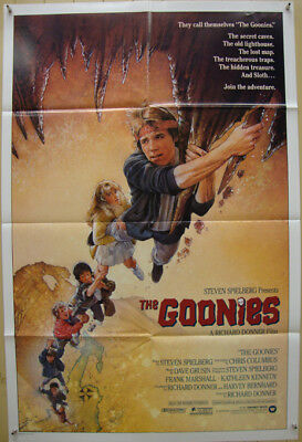The Goonies-Richard Donner-S.Spielberg-Teen Adventure-OS Int'l (27x41 inch)