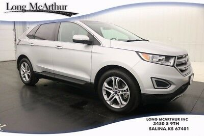 2015 Ford Edge TITANIUM 3.5 V6 AUTOMATIC FWD PANORAMIC ROOF LEATHER  MSRP $40320 ONE OWNER! ALLOY WHEELS REAR EXTERIOR CAMERA HEATED FRONT SEATS SYNC SIRIUSXM