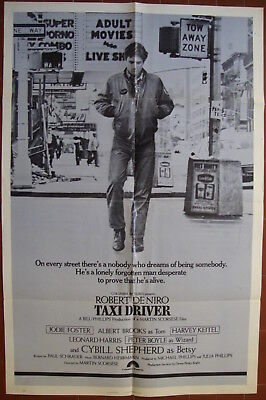 Taxi Driver-M.Scorcese-R.De Niro-Jodie Foster-New York-OS Int'l (27x41 inch)