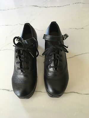 Irish Dance Hard Shoes, Rutherford size 5.5 x  Gently Used; Excellent Condition