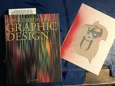 Contemporary Graphic Design Taschen Books - signed