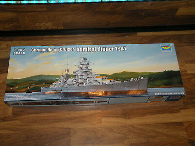 Trumpeter 05317 German Heavy Cruiser Admiral Hipper 1941 1:350