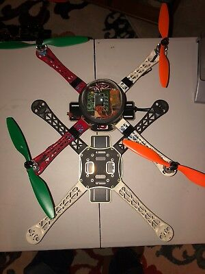 Crash's Planes 31 of 150  Flamewheel clone Dome quad with spare parts
