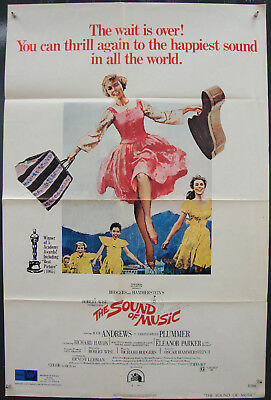 The Sound of Music-R.Wise-Julie Andrews-Ch.Plummer-OS R73 (27x41 inch)