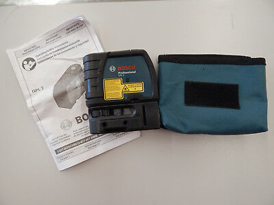 Bosch Professional GPL 2 Self-Leveling 2 Point Laser Level Portable Tool