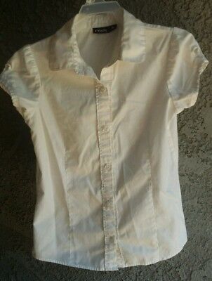 Girls school uniform top size 8/10