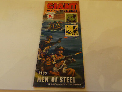 GIANT WAR PICTURE LIBRARY,NO 13,1964 ISSUE,GOOD FOR AGE,53 yrs old,V RARE COMIC.