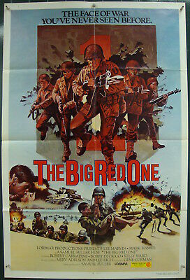 The Big Red One-World War II-S.Fuller-Lee Marvin-Military-OS Int'l (27x41 inch)