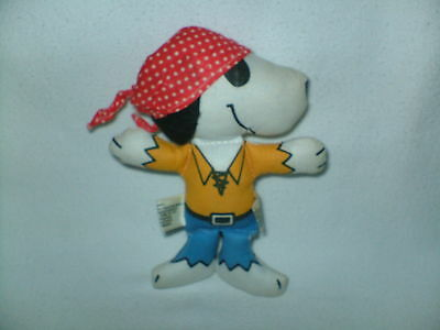 Vtg 1966 Snoopy Doll Pirate Snoopy United Feature Syndicate Taiwan