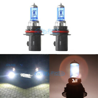 Pair 9004 HB1 100/80W Head Light Bulb Halogen Replacement High Low Beam OE