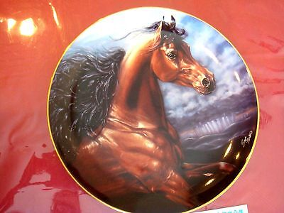 Chosen Champion  Horse Plate By Susie Morton  With Coa