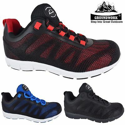 36aa8c9d019 WOMENS LADIES ULTRA Lightweight Work Steel Toe Cap Safety Shoes Trainers  Boots