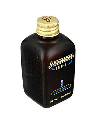 Prospectors Mens Barbershop Scent Beard Oil Conditioning Skin Care 50ml / 1.7oz
