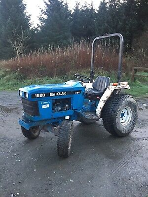 New Holland 1520 Compact Tractor, Equestrian, Horse, Small holding, Farm, Golf