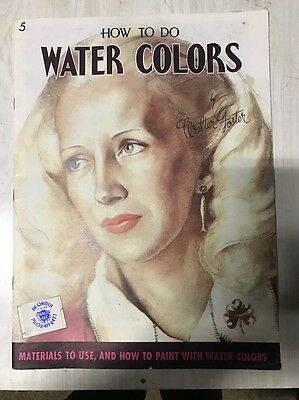 How To Do Water Colors - #5 - Walter Foster - Free Postage