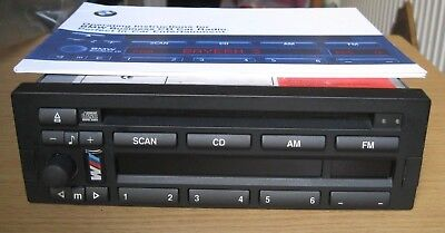 BMW CD Player, Head Unit, Radio CD43 E36,E34,E32,E31,Z1,Z3, Rover