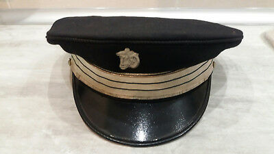 Casquette / Coiffure Capitaine Police /crs/motocycliste