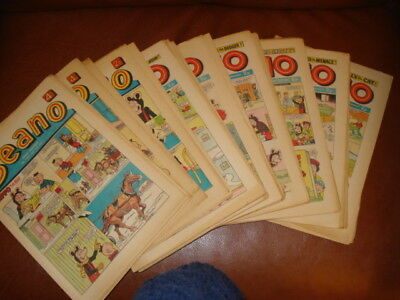 Beano Comics 1971 (complete year) - excellent