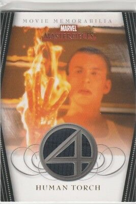 2008 Marvel Masterpieces Series 2 FANTASTIC FOUR Torch Costume Card FF3 Evans