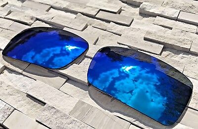 ✅NEW Polarized Replacement Lenses to fit Oakley Gascan Blue Mirror Lens Sunglass