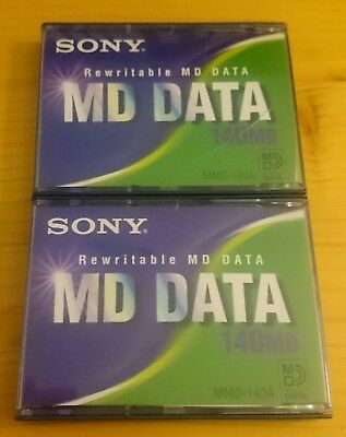 Sony MD Data Minidisc Minidisk Mini Disc Mini Disk