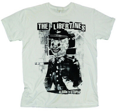 "The Libertines ""Albion to Utopia"" Mens T-Shirt S BRAND NEW"