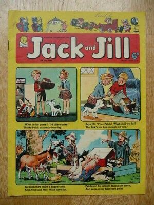 Collectible Vintage Jack and Jill Comic By Fleetway Publications - 4th July 1964