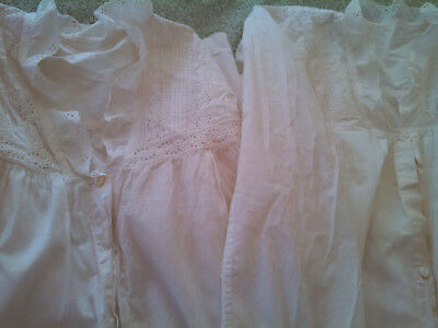 Antique Victorian Nightgowns / PAIR / Very Good