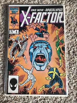 X-Factor #6 First Appearance of Apocalypse Comic Book X-Men 1986 Marvel COOL!