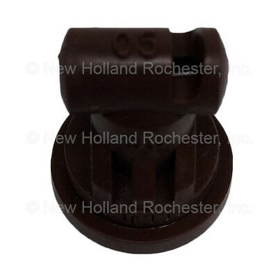 New Holland Brown Wide Angle Flat Spray Tip Part # 51406077 for Sprayers