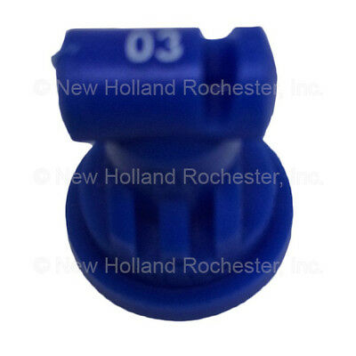 New Holland Blue Wide Angle Flat Spray Tip Part # 51406075 for Sprayers