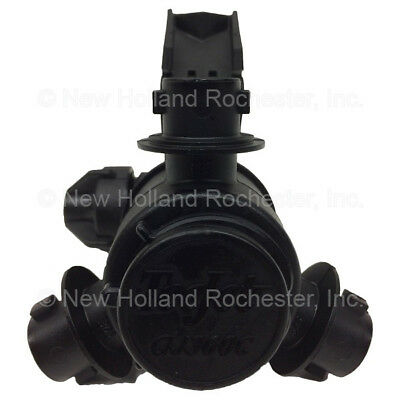 """New Holland 1"""" 3-way Nozzle Body Part # 51405682 for Sprayers SP.240F SP.275F"""