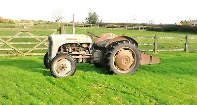 1949 registered Ferguson T20 tractor with implements