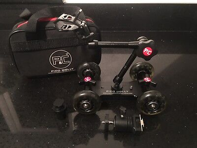 Pico Flex Dolly Kit - for Video DSLR Camera/ Camcorder + Magic Arm and Ball Head