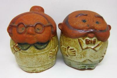 Retro Collectable GEMPO Grandma and Grandpa Salt & Pepper Shakers Made In Japan
