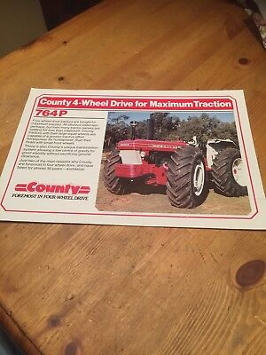 County Tractor 764P leaflet