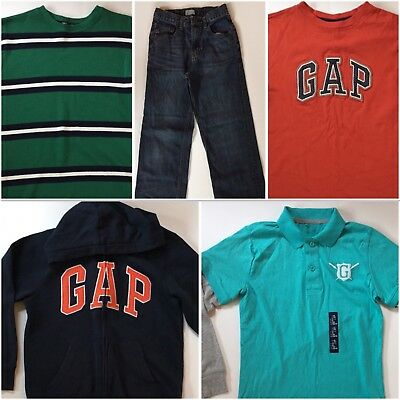 GAP Boys Size 12 Fall Winter Everyday Clothes Lot of 5 VERY CUTE