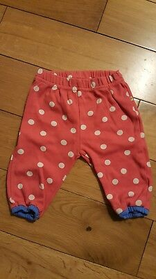 Frugi Pink Spotty Trousers Size 3-6 Months