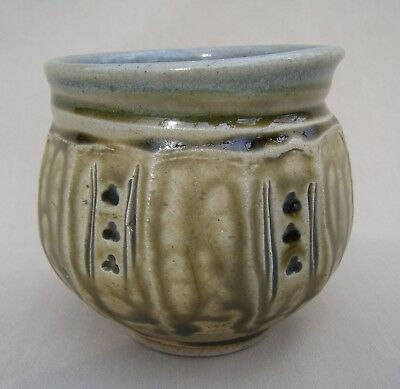 Studio pottery tea bowl by David Melville