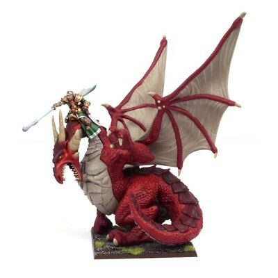 Elf Dragon Kindred Lord, Kings of War, 28mm, New, Warhammer compatible