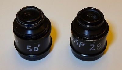 """28mm all glass aspheric 1.25"""" telescope eyepieces with fine focus"""