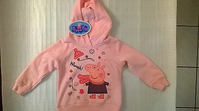 Peppa Pig / Jumper / Hoodie / Girl / Sizes 5, and 6.
