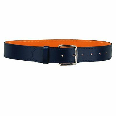 "Baseball Belt - 1 1/2"" Full Leather Baseball Belt - 5 colours"