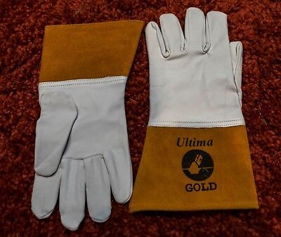 Ultima Welding Gloves - Perfect Glove For Tig Welding. Size 10