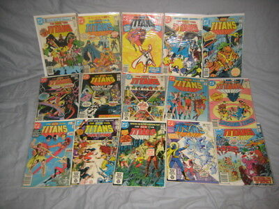 New Teen Titans Vol.1 1-55  Annuals 1, 2 +10 Others Lot Of 67 Comics Deathstroke