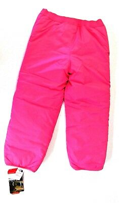 Reversible Insulated Pink ~ Purple Snow Ski Sport Pants The North Face []