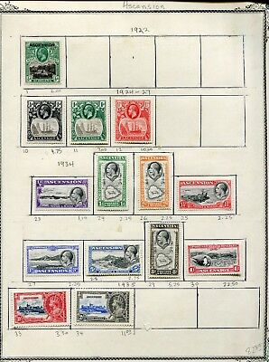 Weeda Ascension 1//827 Collection of 1922-2003 issues CV $177.30