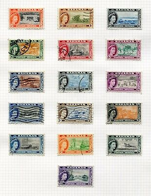 Weeda Bahamas 158//618A Used collection of sets, 1954-1987 issues $288.40
