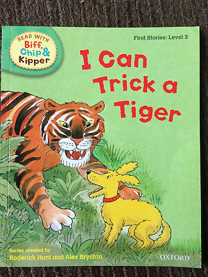 Read with Biff, Chip & Kipper: Level 3: I Can Trick A Tiger - paperback - VGC