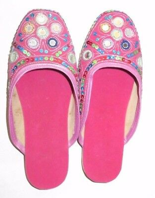 Shoes - Belly Dancing - Indian Size 5-6 Pink